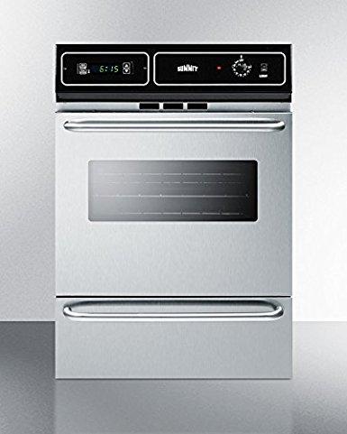 Summit TTM7212BKW Kitchen Cooking Range, Stainless Steel