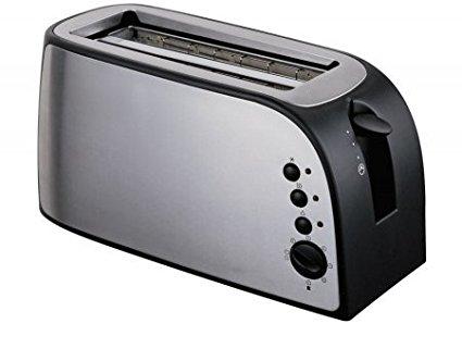 Frigidaire FD3122 4-Slice Stainless Steel Wide Slot Toaster, 220-volt