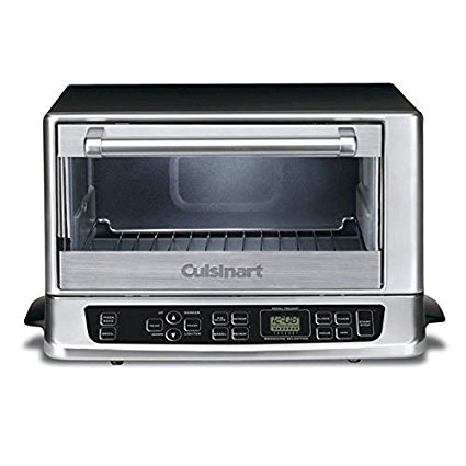 Cuisinart TOB-155 Toaster Oven Broiler, Stainless/Black (Certified Refurbished)