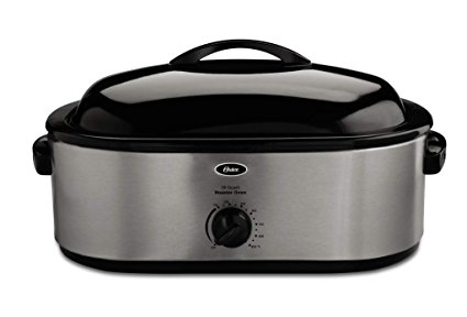 Oster Roaster Oven with Self-Basting Lid, 18-Quart